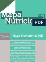 Mapa nutricional de los escolares 2017