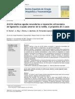 2010 Artritis sépticas agudas secundarias a reparación artroscópica de ligamento cruzado anterior de la rodilla.pdf