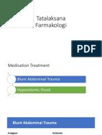 Tatalaksana Farmakologi Skenario 4