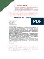 Carta de Oferta Foro Tece 2