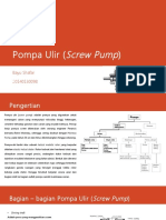 Pompa Ulir (Screw Pump)