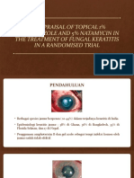 Re-Appraisal of Topical 1% Voriconazole and 5% Natamycin