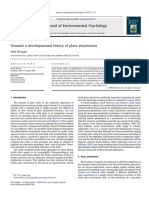 Towards a Developmental Theory of Place Attachment