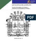 """""""Análisis de La Producción de Quinua Orgánica y Convencional"""