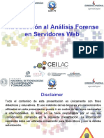 CEILAC-Intro Forense Servidores Web