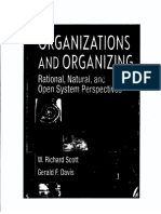 A Indice Organizations and Organazing