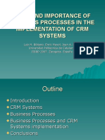 Pnis07-Role and Importance of Business Processes in The