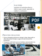 2-Process Aalysis in Industry