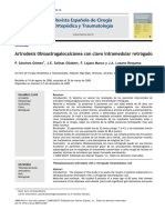 2010 Artrodesis tibioastragalocalcánea con clavo intramedular retrógado