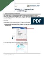 Internet Explorer 11 Issue
