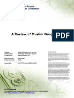 A Review of Muslim Geography