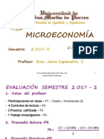 Microeconomía resumen-I- 2017-II