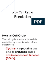 ch 9-3 cell cycle regulation