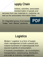Management - Supply Chain