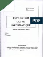 Test Métier Cadre Informatique.pdf
