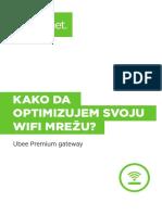Optimizacija WiFi Mreže Ubee