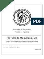 Perdidas - Rendimientos y Factor Servicio en Transmisiones Mecanicas v12.08