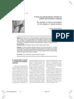 Artigo - A força do estruturalismo francês na análise de produtos culturais - MOSTAFA