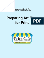 Preparing Art Files Files for Print by the Print Cafe of LI