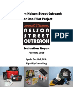 Downtown Nelson Street Outreach - Year One Pilot Project Evaluation - Oct 2016 - Oct 2017 - FINAL