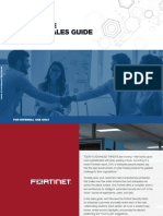 Fortinet Enterprise Partner Sales Guide