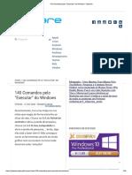 140 Comandos Pelo Executar Do Windows