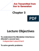 Lecture 5_How Genes Are Transmitted From Generation to GenerationII