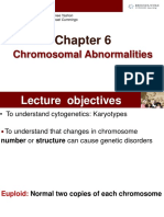 Lecture 9_Chromosomal Abnormalities