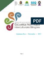 2do. Encuentro Nacional de Normales Interculturales Bilingues