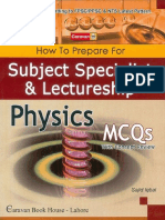 Caravan's Physics MCQs Papers Solved Best PDF Book Download Free for PPSC Test