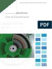 WEG Motores Electricos Guia de Especificacion