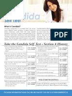 Candida Self Test