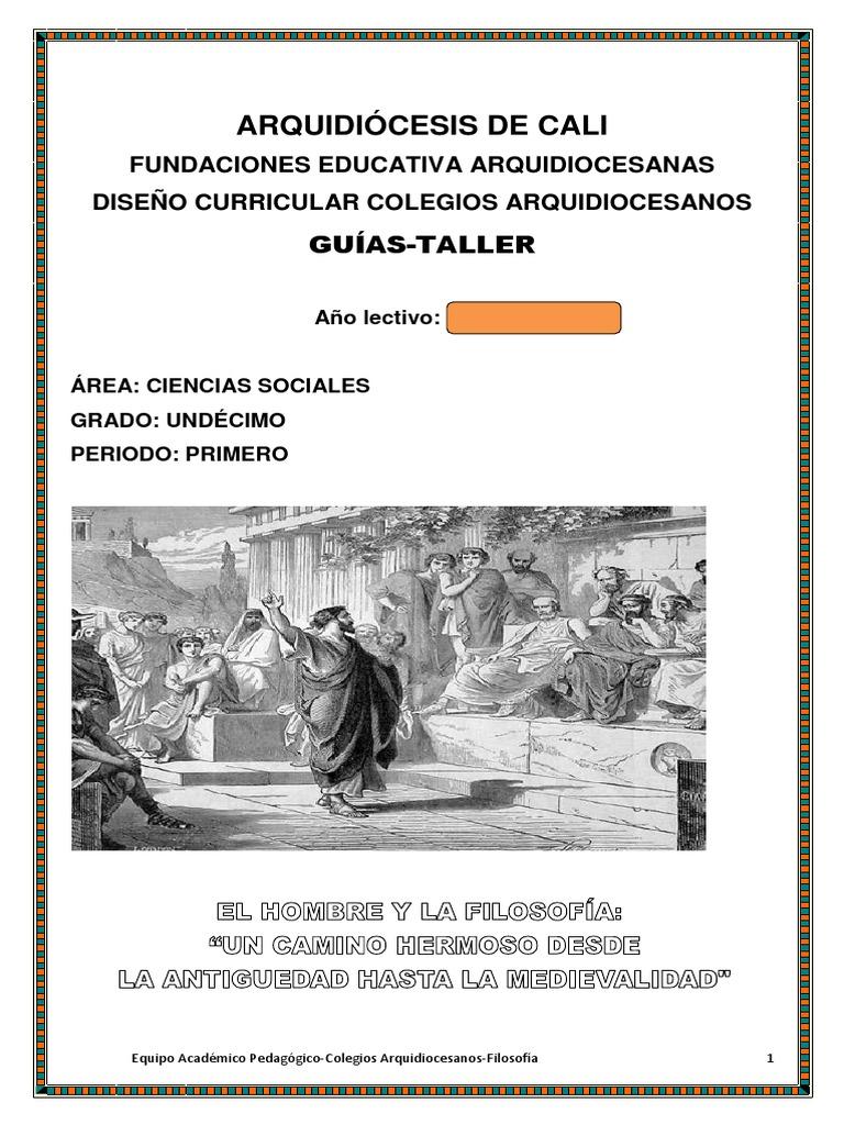 Guia Filosofia 11 Pdf Empirismo Ciencia