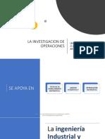La Investigacion de Operaciones-clase1