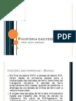 Historia Das Ferrovias