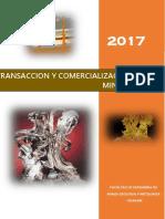 Transaccion y Comercializacion de Minerales 1