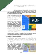 El Fallo de La Haya en El Caso Chile