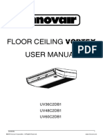 Innovair UV Vortex Floor Ceiling User Manual English