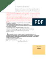 Propositos de Español, Matematicas, Ciencias, Geografia, Historia, Formacion Civica y Educacion Fisica