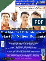 Pliant MiniGhid SUN 2018 Network@StartUP