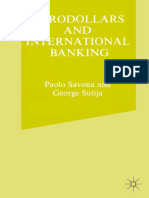 Savona, Sutija Eurodollars and Intl Banking