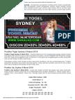 Prediksi Togel Sydney 9 Maret 2018 _ Prediksitogelmacau.com