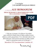 Es Conchiglia Missale Romanum