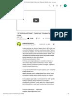 (78) 7 Sitios en Internet Para Que Trabajes Desde Casa - Youtube