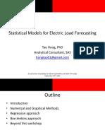 Ms a 2011 Load Forecasting Workshop