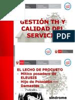 Ppt Gestion y Calidad Del Servicio