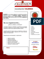 Propuesta VALDINOX