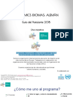 Latinomics Idiomas Guia 2018 - Alemán
