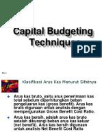 Teknik Capital Budgeting