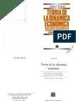 Teoría de la dinámica económica. Michal Kalecki